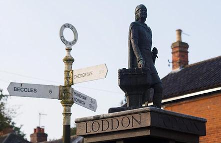 Loddon sign