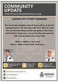 Safer Neighbourhood Street Surgery - 12 June 2021