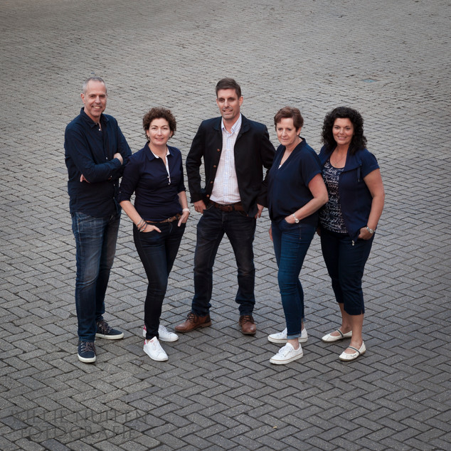 Fotoshoot koor De Parel Vocal Group
