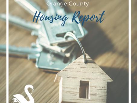ORANGE COUNTY housing report | October 2018