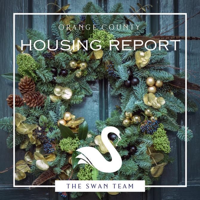 ORANGE COUNTY housing report   December 2017