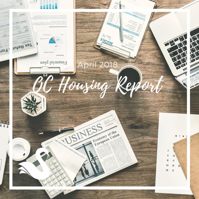 ORANGE COUNTY housing report | April 2018