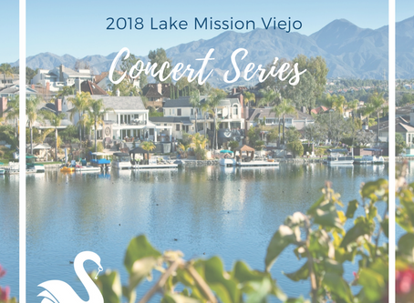 LAKE MISSION VIEJO concert series | Summer 2018