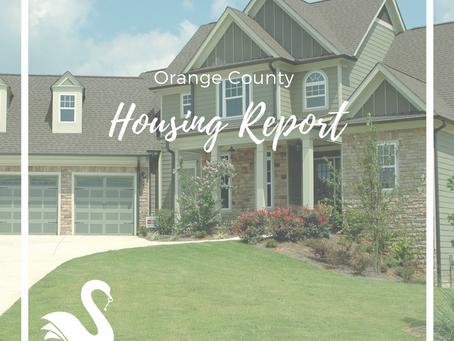 ORANGE COUNTY housing report | August 2018