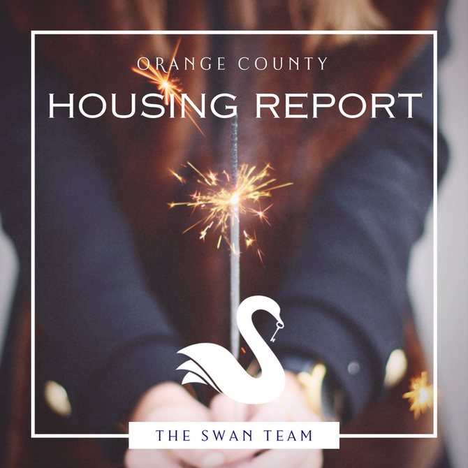 ORANGE COUNTY housing report   January 2018