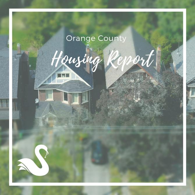ORANGE COUNTY housing report | November 2018