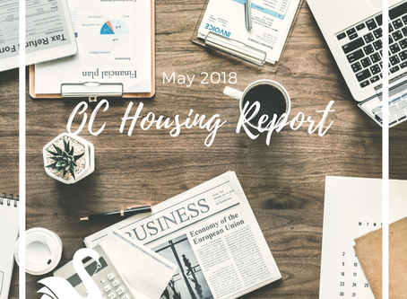 ORANGE COUNTY housing report | May 2018