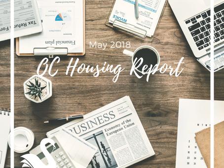 ORANGE COUNTY housing report | May 2018