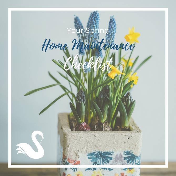 Your Spring Home Maintenance Checklist
