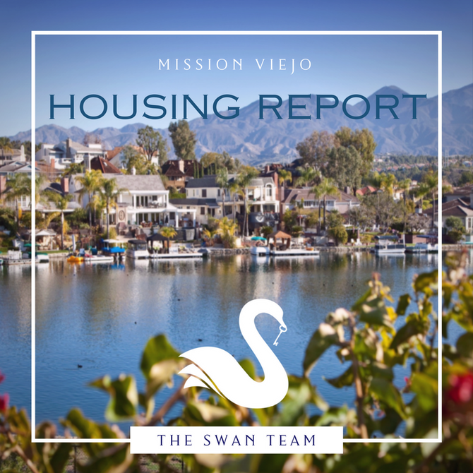 MISSION VIEJO housing report   January 2018
