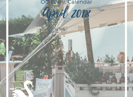 ORANGE COUNTY event calendar | April 2018