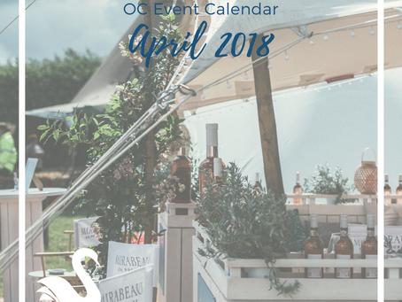 ORANGE COUNTY event calendar | April 2018