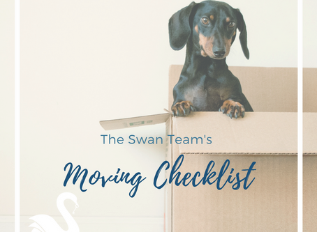 Simple Moving and Packing Tips | The Swan Team Checklist