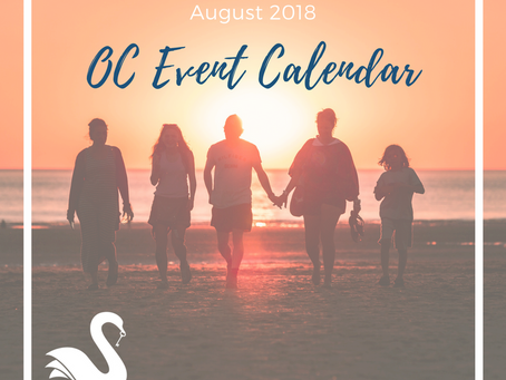 ORANGE COUNTY event calendar | August 2018