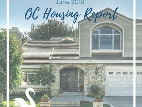 ORANGE COUNTY housing report | June 2018