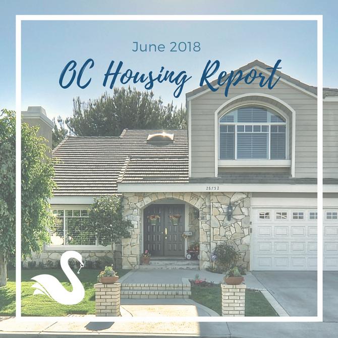 ORANGE COUNTY housing report   June 2018
