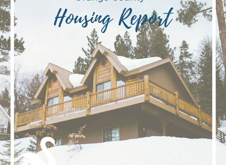 ORANGE COUNTY housing report | December 2018