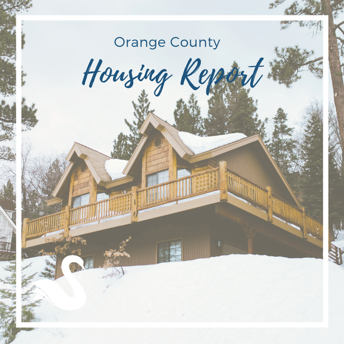 ORANGE COUNTY housing report | December 2018