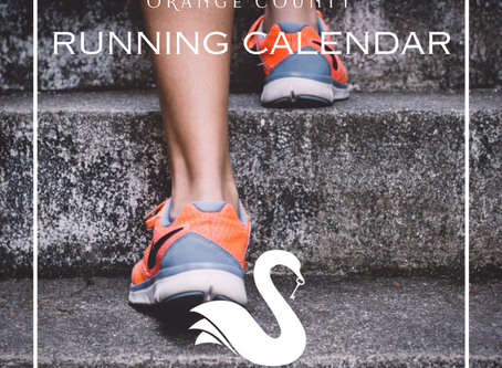 ORANGE COUNTY running calendar | Winter 2018