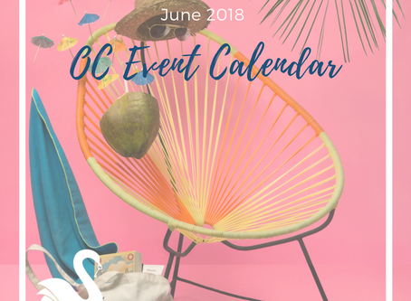 ORANGE COUNTY event calendar | June 2018