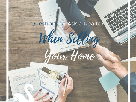 Questions to Ask a Realtor® When Selling Your Home