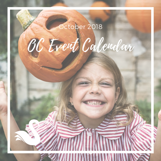 ORANGE COUNTY event calendar | October 2018