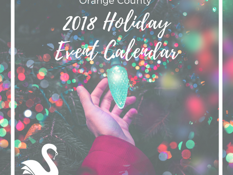 ORANGE COUNTY event calendar | Holidays 2018
