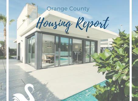 ORANGE COUNTY housing report | September 2018