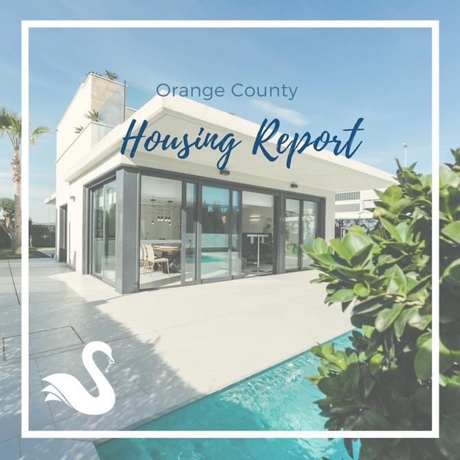 ORANGE COUNTY housing report | September 2018