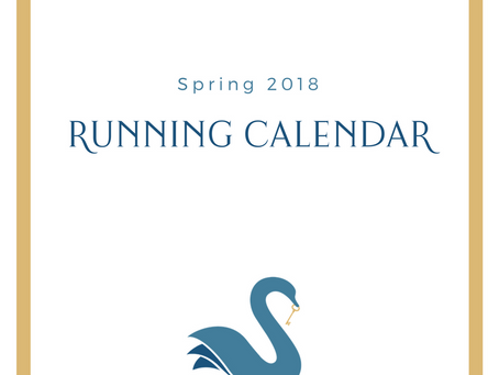 ORANGE COUNTY running calendar | Spring 2018