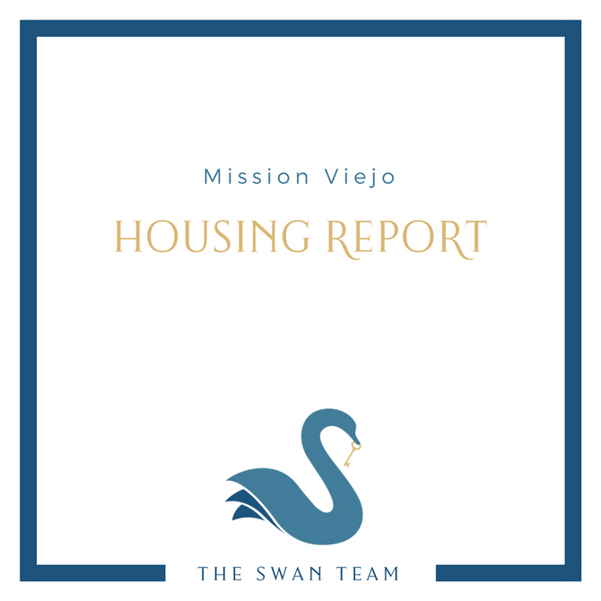 MISSION VIEJO housing report | February 2018