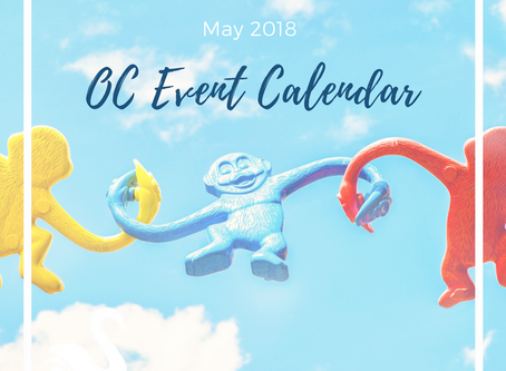 ORANGE COUNTY event calendar | May 2018