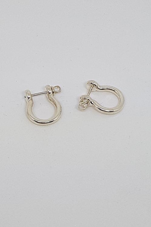 Boucles d'oreilles manille