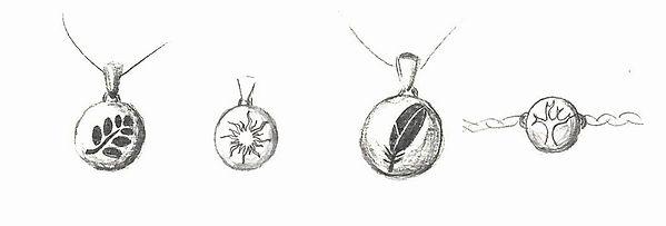dessins de bijoux