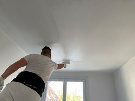 Repeindre un Plafond comme un Peintre Professionnel !