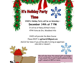 VHOC Holiday Party