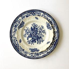 Blue & White Plate Rental