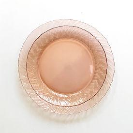 Vintage Pink Plate Rental