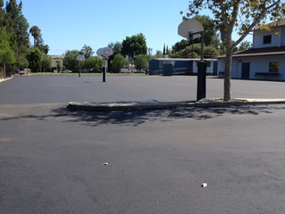 Paving of the Parking Lot