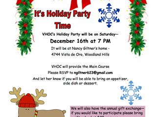 VHOC's Holiday Party