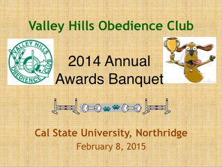 2014 Awards Banquet