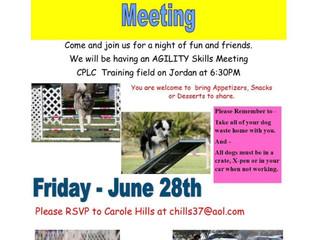 June 28th General Membership Meeting