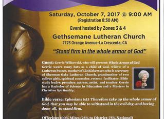 LWML Fall Celebration & Luncheon
