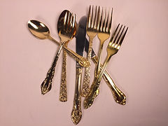Vintage Flatware and Tabletop Rental for Weddings and Events