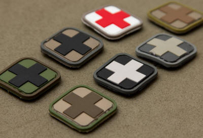 Red Cross rubber patch