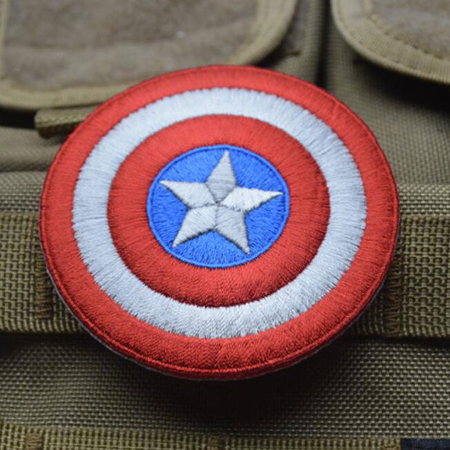 Captain American Embroidery