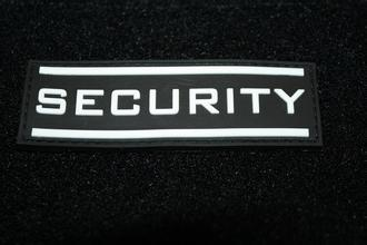 Security rubber patch