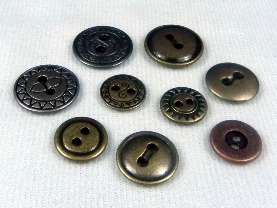 Metal button series