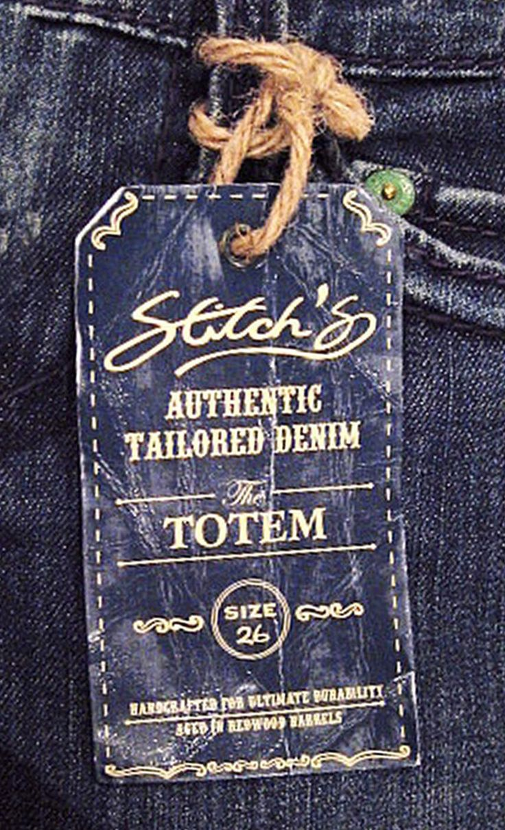 Stitch hangtag