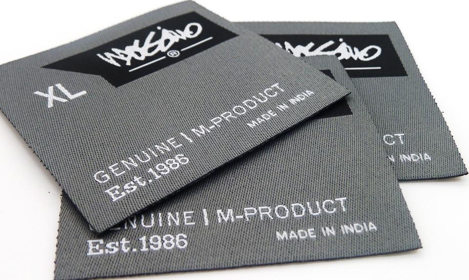 Taffeta Woven Label